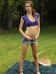 Picnic Turns Naughty with Hottie Malena Morgan - 6/15/2012