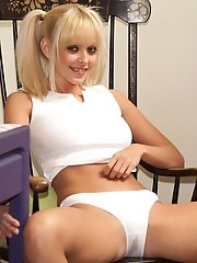 Jana Cova in See Thru White Panties - 3/31/2006