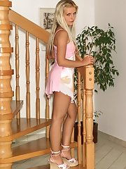 Mandy Strips Out of Her Sundress - 3/31/2006